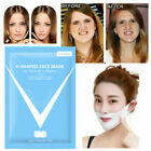 V Line Mask Firming Face Lifting Jaw Double Chin V Shape Slimming Firming Mask