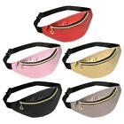 Fashion Pure Color Women Shoulder Waist Fanny Belt Packs Leather Chest Bags /neu