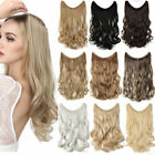 top secret wire no clip in hair extensions invisible thick long as human piece