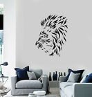 Vinyl Wall Decal Lion Mane Head Animal Tribal Art Decor Room Stickers (ig5624)