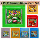GBC Pokemon Game Card Carts GameBoy For Nintendo Color Version Cartridge Gift US