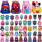 Kids Boys Girls Cartoon Kindergarten School Book Bag Backpack Toddlers  Rucksack
