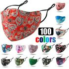 Kyпить Reusable Washable Breathable Pattern Print Neoprene Cloth Face Mask Covering на еВаy.соm