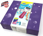Scholl Velvet Smooth Pedi Electric Foot File Hard Skin Remover Gift Set + Insole
