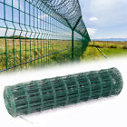 PVC Coated Steel Mesh Fencing Wire Galvanised Square Metal Fence Chicken Garden