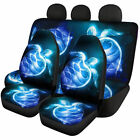 Fashion Animal Car Seat Covers Full Set Front Rear Universal Fit for Cars,Truck