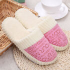 Ladies Womens Memory Foam Slippers House Shoes Anti Slip Comfy Home Indoor Size