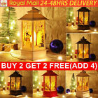Christmas Tree Lamp LED Light Up Mini Lantern Santa Claus Ornament Decoration