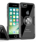 For iPhone 7 8 Plus SE 2020 Clear Case Shockproof Ring Holder Kickstand Cover