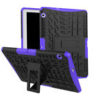 For Huawei MediaPad T5 T3 M5 Shockproof PC Armor Kickstand Hybrid Rugged Case