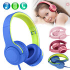 Kyпить Kids 3.5mm Headphone Earphone On Ear Wired Mic Stereo Headsets Foldable for Girl на еВаy.соm