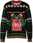 Blizzard Bay Men's Ugly Christmas Sweater Drink Po - Choose SZ/color