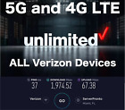 5G & 4G LTE Unlimited Data Plan Verizon Any Device Rural Internet Data Monthly