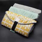 Baby 3-in-1 Portable Diaper Changing Pad Travel Station Clean Mat Folding Clutch