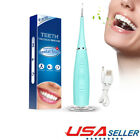 Ultrasonic Scaler Electric Tooth Cleaner Dental Calculus Stain Remover LED