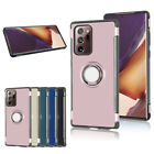 """For Samsung Note 20 6.7""""/ Note 20 Ultra Cover With Ring Holder Dual Layers Case"""