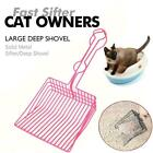 LITTER Shovel Stainless Steel Saves Time Reduces Dust Nice Portable P0Z3