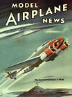 Model Airplane News, August 1939 Vintage Magazine Cover Poster