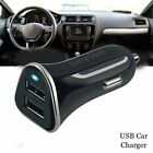 For Samsung Galaxy S20 FE S20 Plus S9 Dual USB Car Charger Adapter Fast Charging