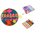 1X(Pet Dog Sniffing Mat Find Food Training Blanket Play Toys Dog Mat For Re O9S3