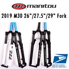 "2020 Manitou M30 Markhor 26"" 27.5"" 29"" Air Suspension Fork Manual Remote MTB"