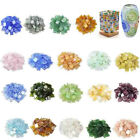 22 Color 1cm Square Vitreous Glass Clear Mosaic Tile For DIY Wall Art Hand Craft