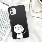 Case Cover For iPhone 6 7 8 12 /11 Pro XS Max XR Soft Cartoon Funny Personalised