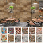 10pcs Modern Gloss Tile Wall Stickers Self Adhesive Home Wall Decor Crystal Film