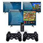 10000+ 4K TV Video Game Stick Console+2 Wireless Controller For GBA N64 PS1