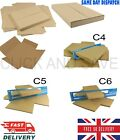 ROYAL MAIL LARGE LETTER BOXES CARDBOARD POSTAL MAIL BOX *ALL SIZES C4 C5 C6*