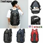45l Waterproof Outdoor Sport Backpack Hiking Camping Travel Daypack Rucksack Bag