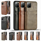 For Apple Iphone 12 11 Pro Max Xs Xr Luxury Leather Card Slot Pocket Cases Cover