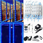 US Blue 20~160pcs 5050 SMD Store Front Window Module Light Out/Indoor Sign Lamp