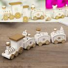 Small Mini Wooden Train Cars Vehicles Set Train Toy B1L0 Christmas Gifts T8P0