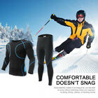 Men Thermal Long Johns Warm Underwear Baselayer Trousers&Top Set for Ski Cycling
