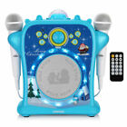 EARISE T29 Kids Karaoke System 2 Wired Microphones with Bluetooth, Voice Changer