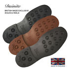 Dainite Shoe Soles  Heels British Made Sole 3 colors, 1 pair  heels