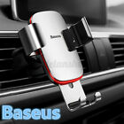 360° Universal Car Phone Holder Air Vent Mount Aluminum For iPhone For A+ D ! N