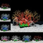 Colorful Coral Tree Artificial Coral Ornament for Aquarium Fish Tank Plant Decor