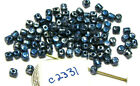 Czech Glass Minos Par Puca Bead YOUR CHOICE OF COLORS 2.5x3mm Lot of Approx 100