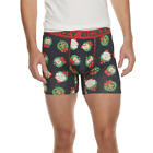 2 Pair Crazy Boxer Briefs, Mens Size L, Christmas Holiday Dogs, Underwear B18 A