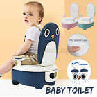 Portable Baby Potty Training Kids Toilet Children Seat Trainer Stool With Brush