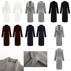 Coat Belted Coats Duster Ladies Drape Trench Waterfall Oversized Womens Italian