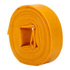 Yellow Layflat Hose Discharge Pump Solid PVC Layflat Water Delivery Pipe 10m-50m