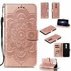 Sunflower Leather Flip Wallet Stand TPU Case Cover For Nokia 2.1 3.1 5.1 6.1 7