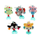 Cute Plush Pacifier Toy with Detachable Dummy and Pacifier Clip