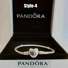 Genuine Silver Pandora Moments Heart Clasp s925 Silver Chain Bracelet Xmas Gifts