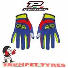 Progrip Gloves Motocross MX Off Road Fluorescent Yellow / Blue / Red PG4010/341