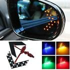 2 pcs Car Side Rear View Mirror 14SMD LED Lamp Turn Signal Light Accessories