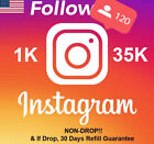 Instagram REAL HQ USA Follow | 𝐍𝐎𝐍𝐃𝐑𝐎𝐏! | Instant! 🔥🔥| 30 Days Refill